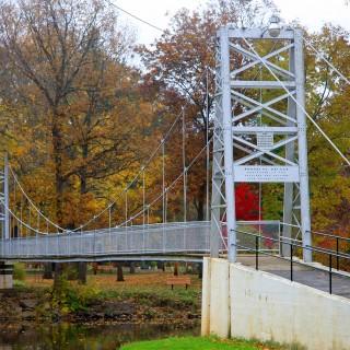 Swinging bridge winamac images 674