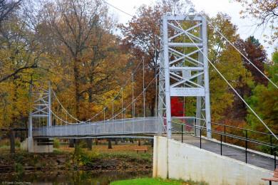 Swinging bridge winamac images 164